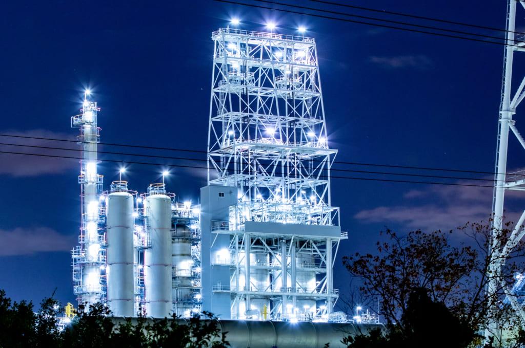 工場夜景写真2